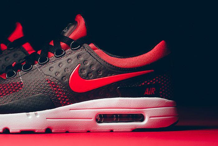 Nike Air Max Zero Black Red 3