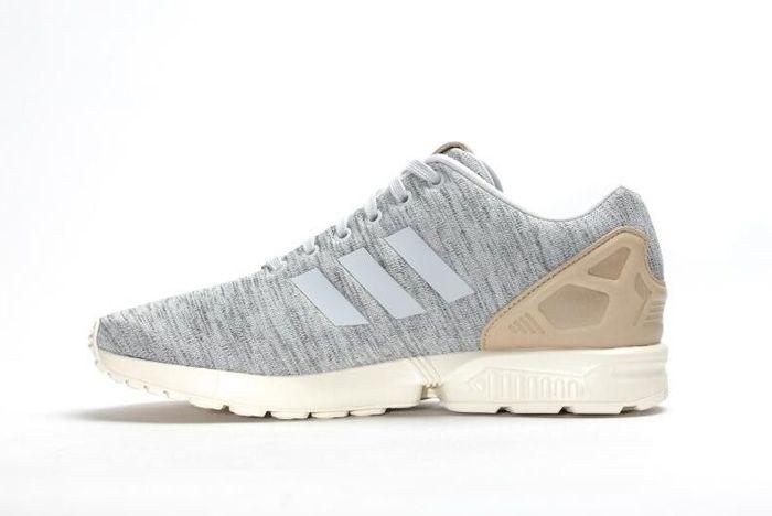 Adidas Zx Flux Solid Grey 5