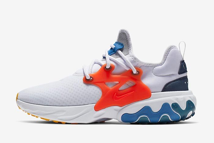 Nike React Presto Breezy Thursday Av2605 100 Lateral Side Shot