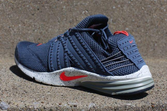 Nike Lunar Presto Armryslate Atomicred Heel Quarter 1