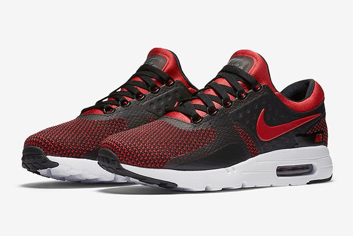 Nike Air Max Zero Bred Black Red 2