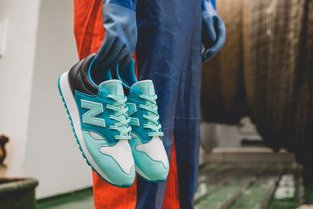 Hanon X New Balance U520 Hnf Fishermans Blues 13