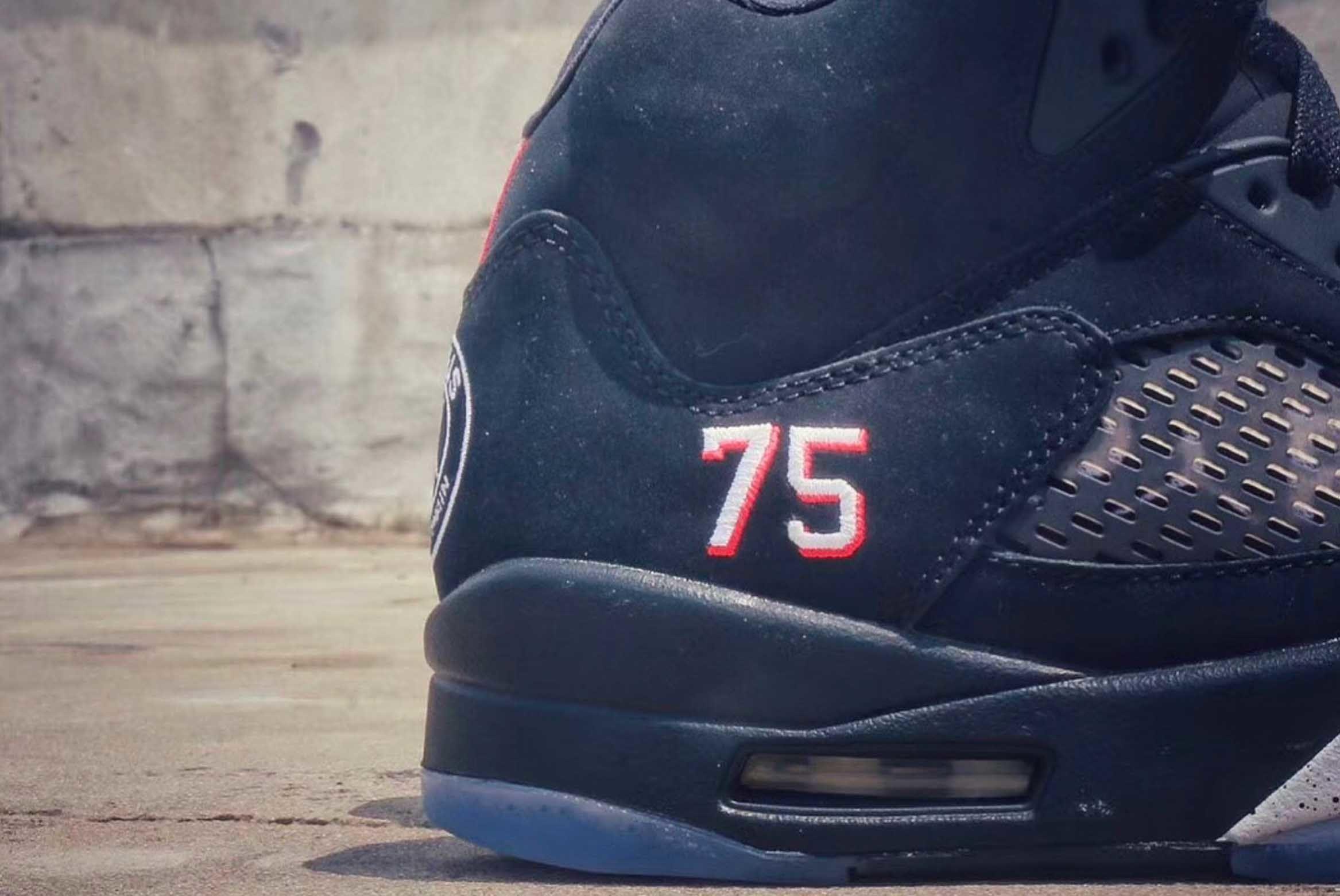 Air Jordan 5 Retro Paris Saint Germain First Look 3 Sneaker Freaker