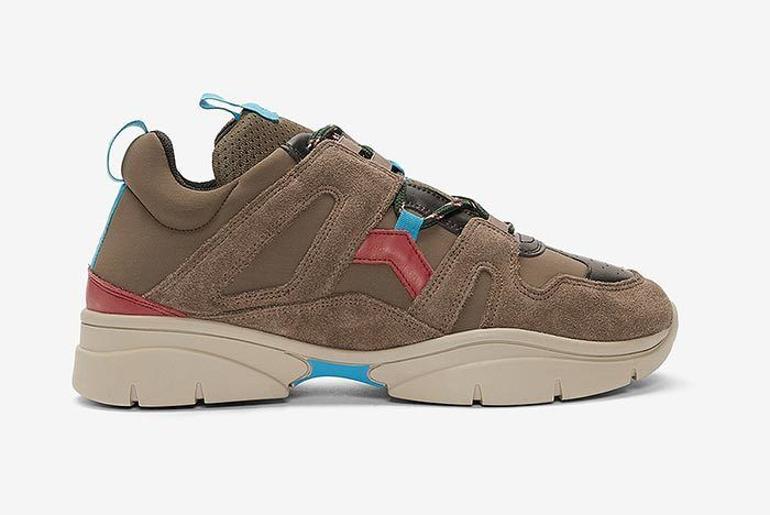 Isabel Marant Kindka Mountain Sneaker Grey 1