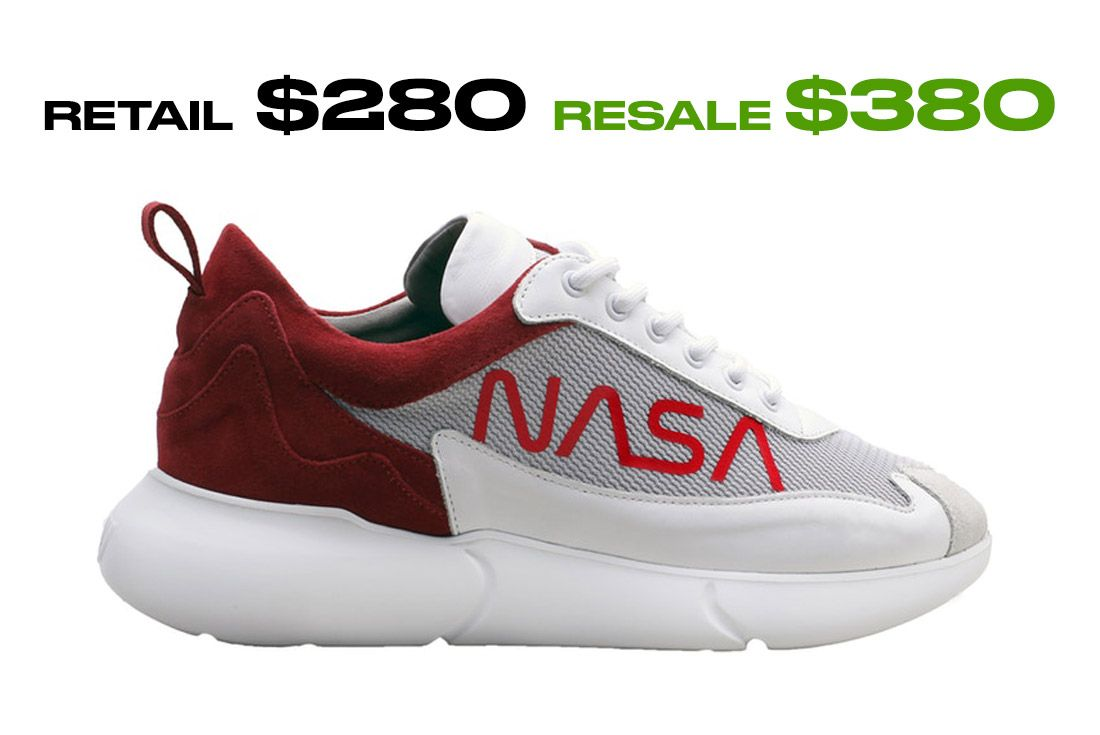 Stockx Resale Mercer W3Rd Nasa Mars Right Side Shot