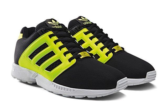 Adidas Originals Zx Flux 2 0 Tonal Neon 3