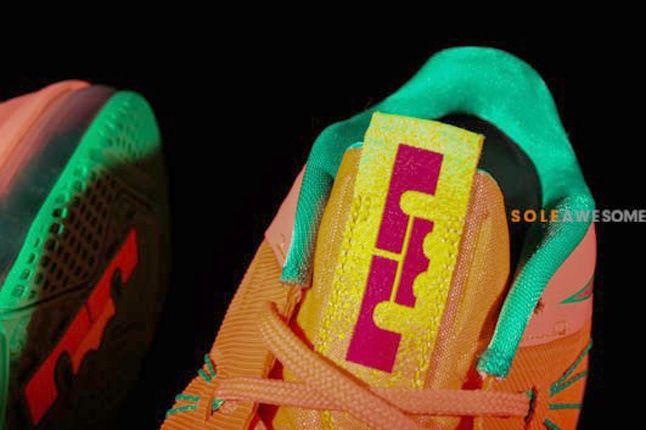 Nike Lebron X Low Watermelon Tongue Detail 1