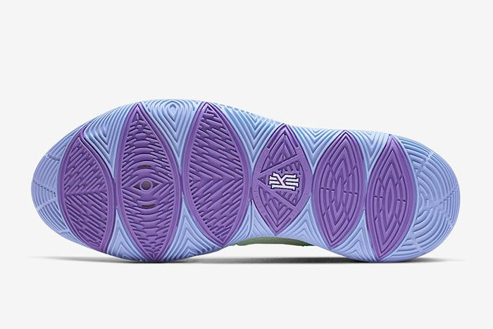 Nike Kyrie 5 Squidward Tenticles Sole