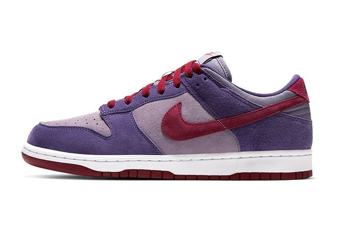 Nike Dunk Collection Plum Sb Lateral Side Shot