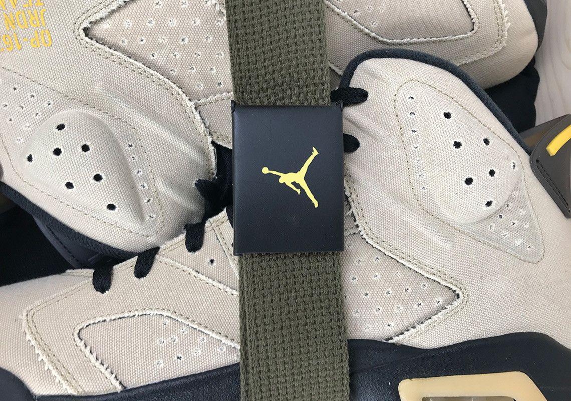 Air Jordan 6 Mlb Pe Canvas 5 Up Close