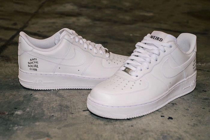 Anti Social Social Club X Nike Air Force 1 4