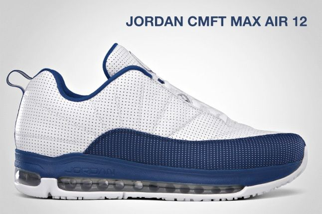 Jordan Cmft Max Air 12 French Blue 1