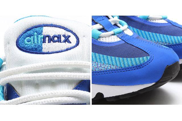 Nike Air Max 95 Jacquard Triple Blue 3
