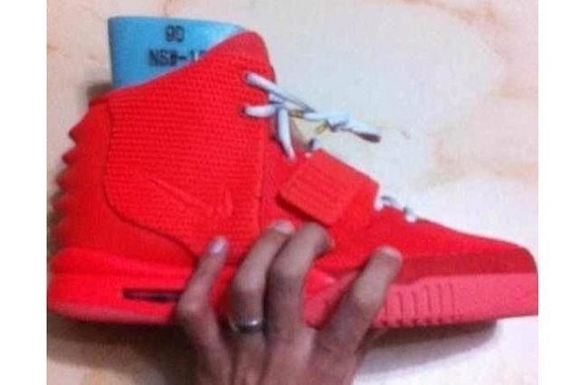 Kanye West Yeezy 2 Nike Red October 5