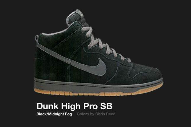 Nike Dunk High Sb Chris Reed 2005 1