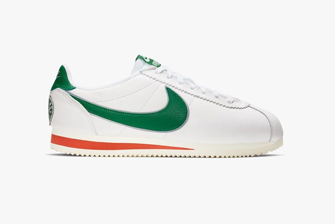 Nike Stranger Things Cortez Hawkins High School Lateral Side Shot