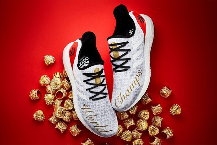 Toronto Raptors Adidas Am4 World Champs Release Date Top Down
