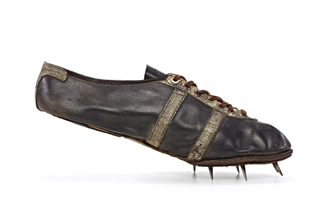 Material Matter Jesse Owns 1936 Olympics Track Spike Shoe