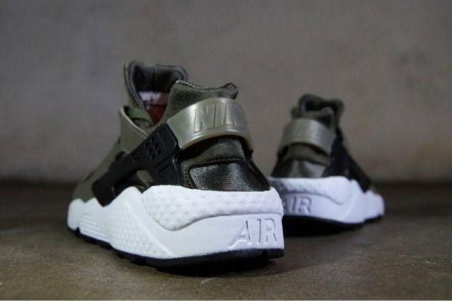 Nike Huarache Iron Green1