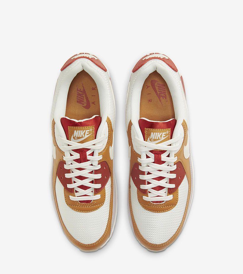 The Nike Air Max 90 Looks Rugged in Orange - Sneaker Freaker