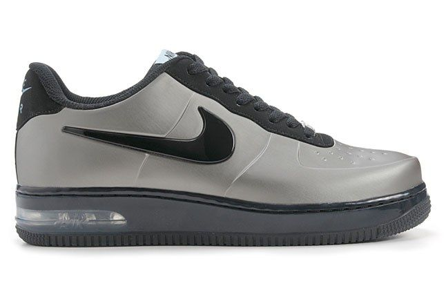 Nike Air Force 1 Foamposite Pro Low Silver 1