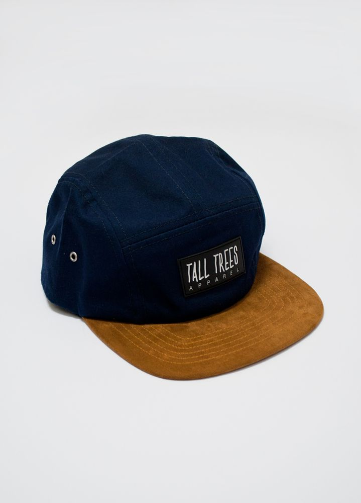 Navy Suede Front