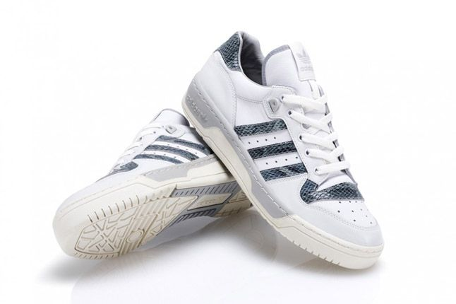 Grey Adidas Rivalry Lo Limited Edition Pair 1