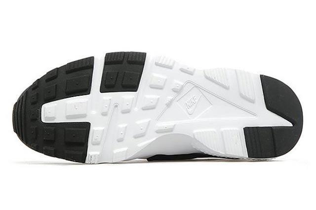 Nike Air Huarache Gs White Black Anthracite 03