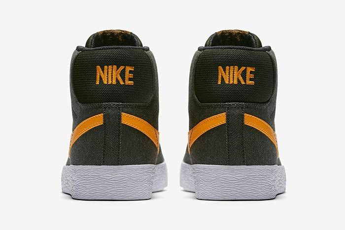 Nike Sb Blazer Sequoiacircuit Orange 4