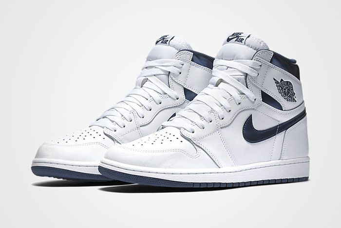 Air Jordan High Retro Metallic Navy 5