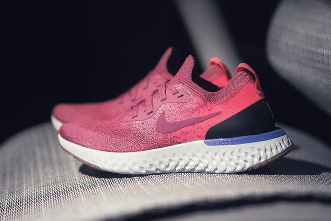 Nike React Flyknit Pink 1
