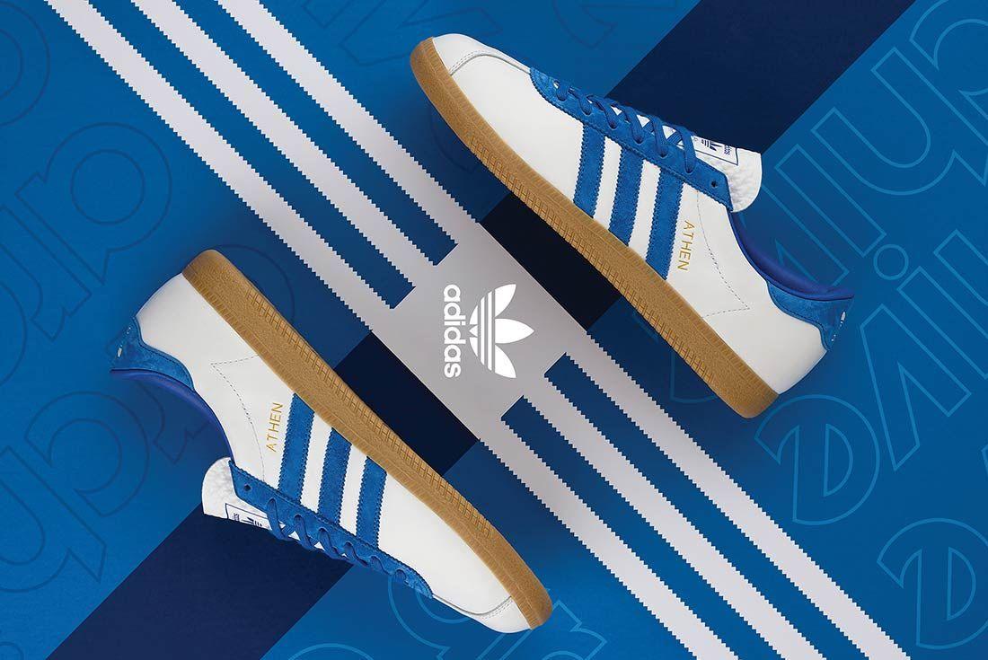 Adidas Athen Size Exclusive Whiteblue 5