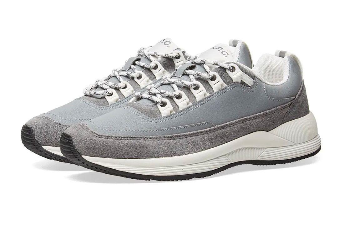 Apc  Techno  Sneaker  Front  Angle