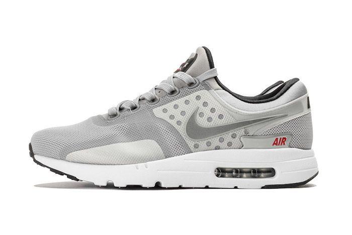 Nike Air Max Zero Matallic Silver 5