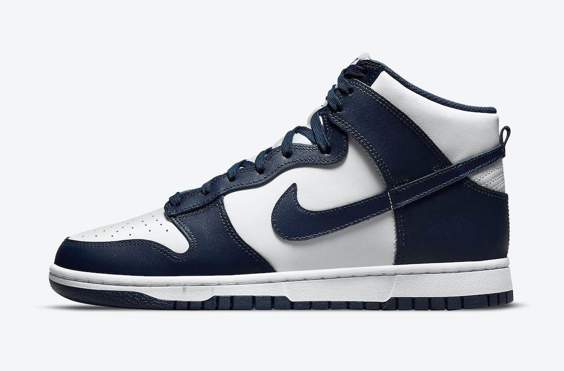 Nike Dunk High Midnight Navy