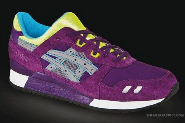 Asics Gel Lyte Iii 2013 Purple Side 1