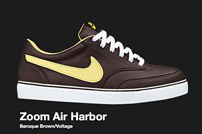 Nike Sb Zoom Air Harbor Baroque Brown 2008 1