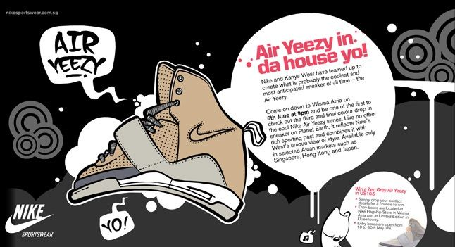 Air Yeezy Launch Singapore 1