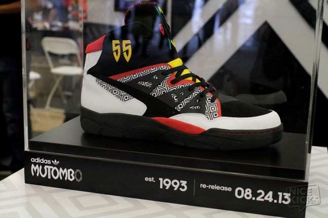 Adidas House Of Mutombo Signing Sneakercon 5