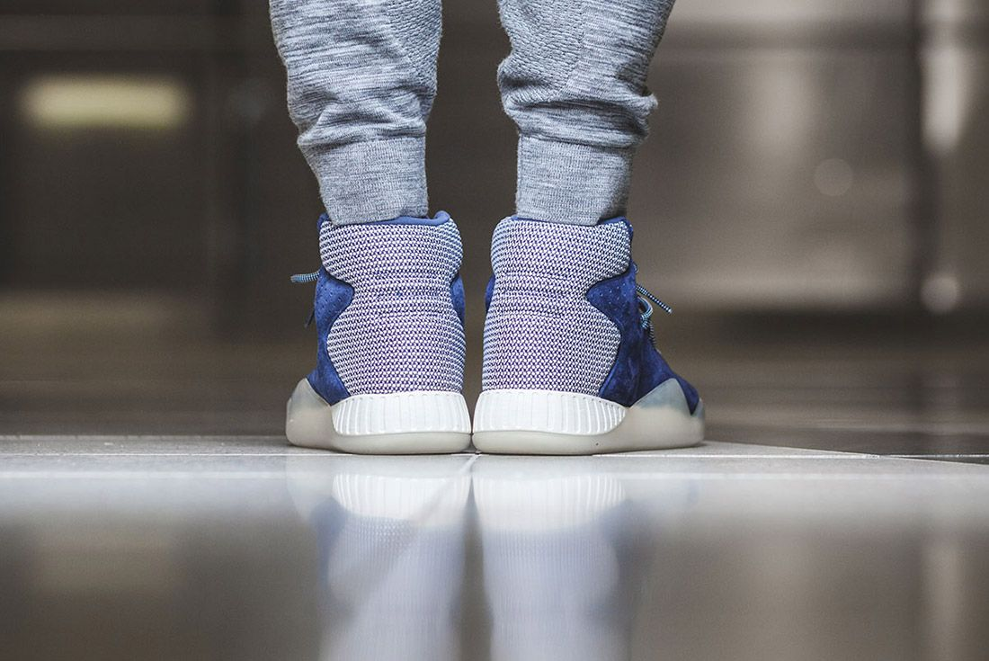 Adidas Tubular Instinct Dark Blue Off White 3