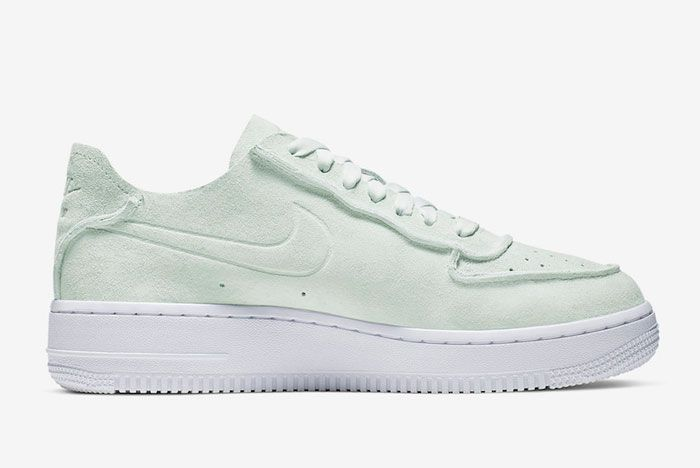 Nike Air Force 1 Decon Ghost Aqua Lateral Inside