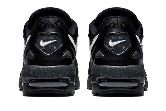 Nike Air Max 2 Light Black Ao1741 001 Heel Shot 4
