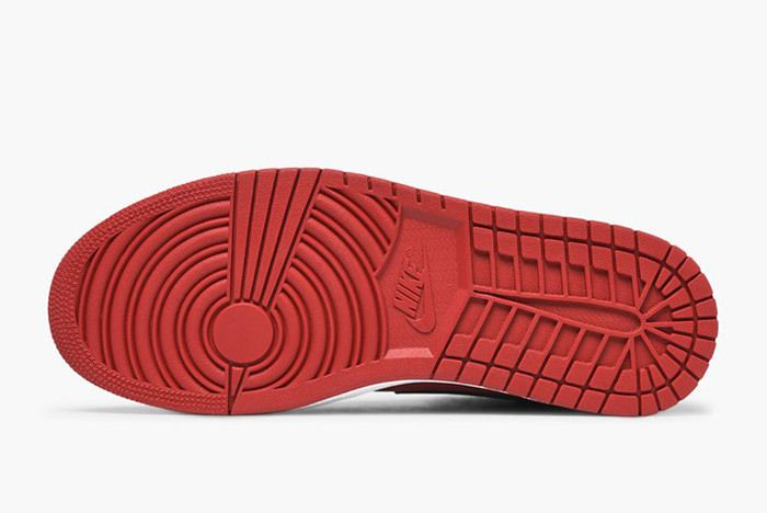 Jordan Air Jordan 1 Mid 554724 610 Gym Red Black White 5