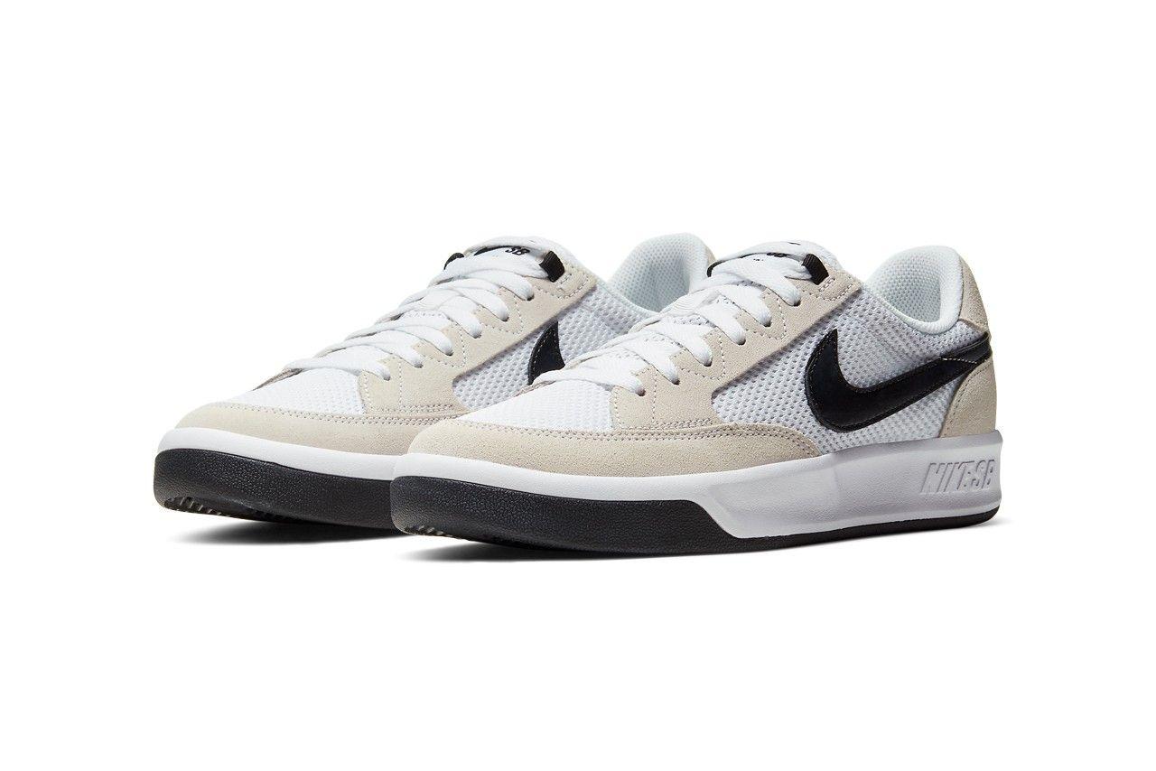 Nike SB Adversary Black Angled