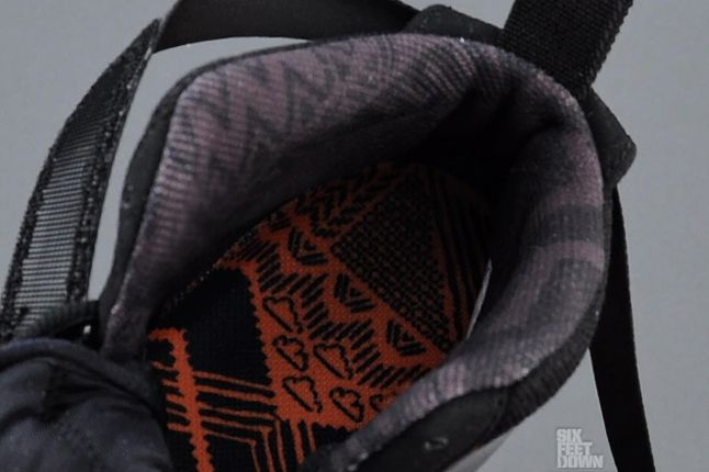 Nike Foamposite Black History Month Lining 1