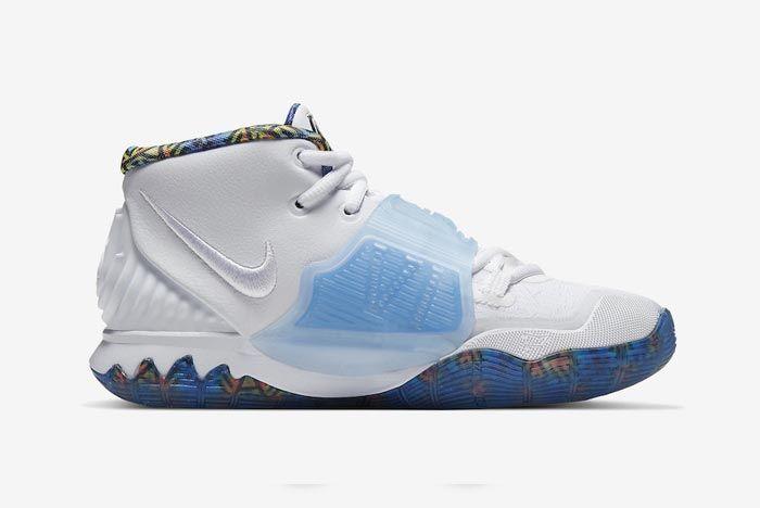 Nike Kyrie 6 Sapphire Medial