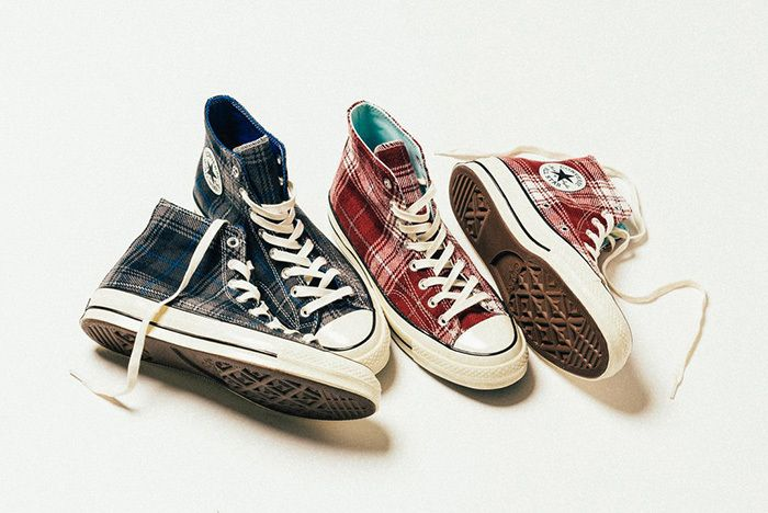 Converse Chuck Taylor All Star 70 Hi Plaid 4