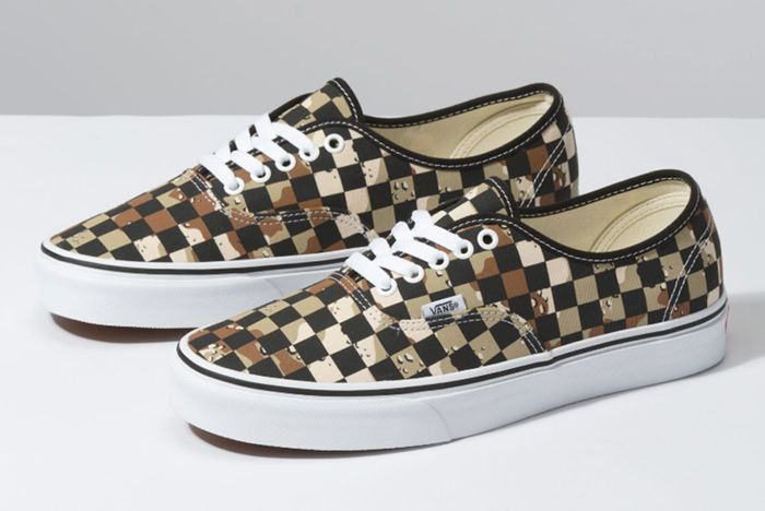 Vans Camo Check Authentic