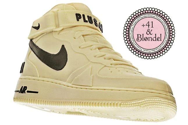+41 Blondel Nike Air Force 1 Chocolate