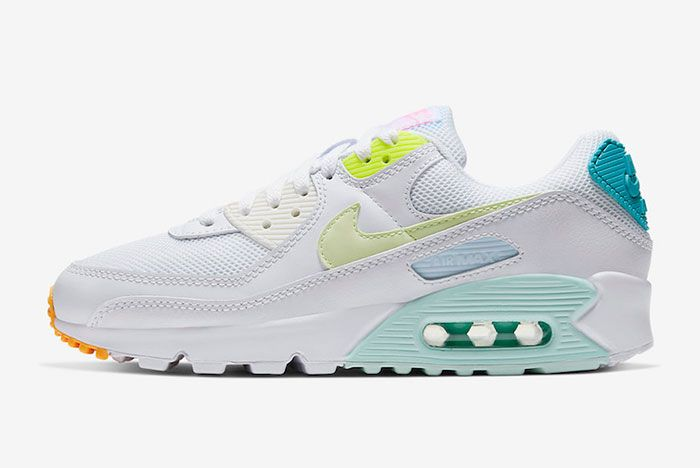 Nike Air Max 90 Cz0366 100 Medial Side Shot